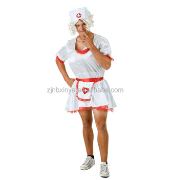 8a97c63703325 Adult Men Male Nurse Funny Dress For Halloween Party Fancy Dress ...