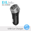 Wholesale 5V 2.4A Fast Charging Portable Universal Travel Smart Mobile Cell Phone Accessories Dual Usb Car Charger For iPhone