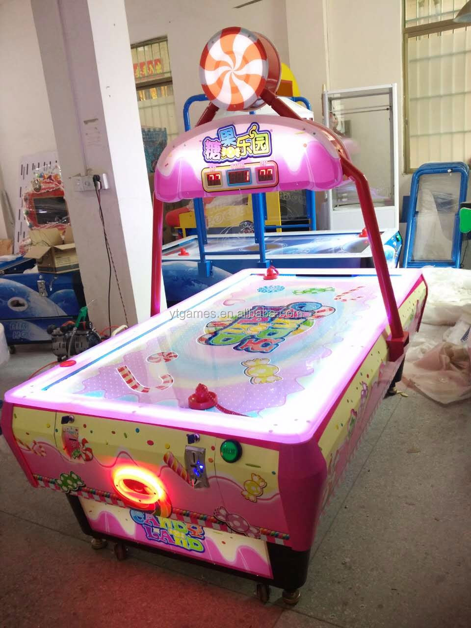 New Type Medium Size Kids Game Air Hockey Table Arcade Machine For Game City