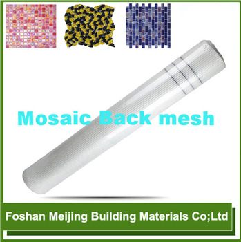 hot sale 80g high quality mosaic floor tile fiberglass mesh