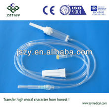 Disposable syringe infusion Set with Y injection port factory with CE ISO certificate