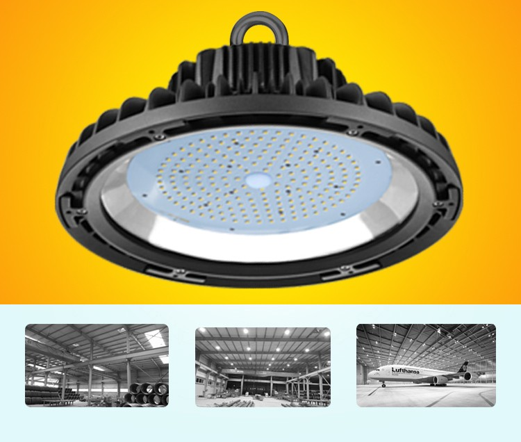 UL IP65 Industrial 100W Ufo Led High Bay Light in Malaysia