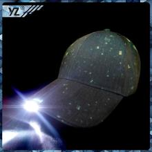 2015 new produce hat China custom custom LED baseball cap manufacturer