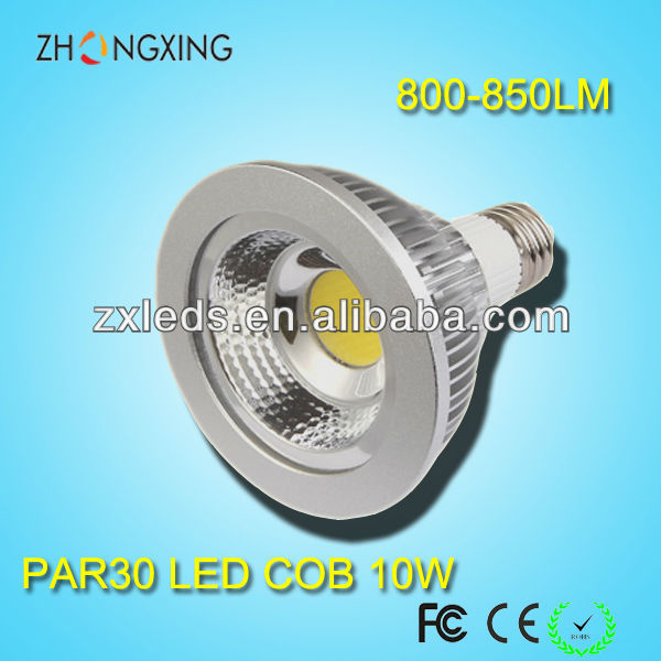 10W equal to 50W 30degree precision aluminum DC12V DC24V Solar COB Par30 LED Lights