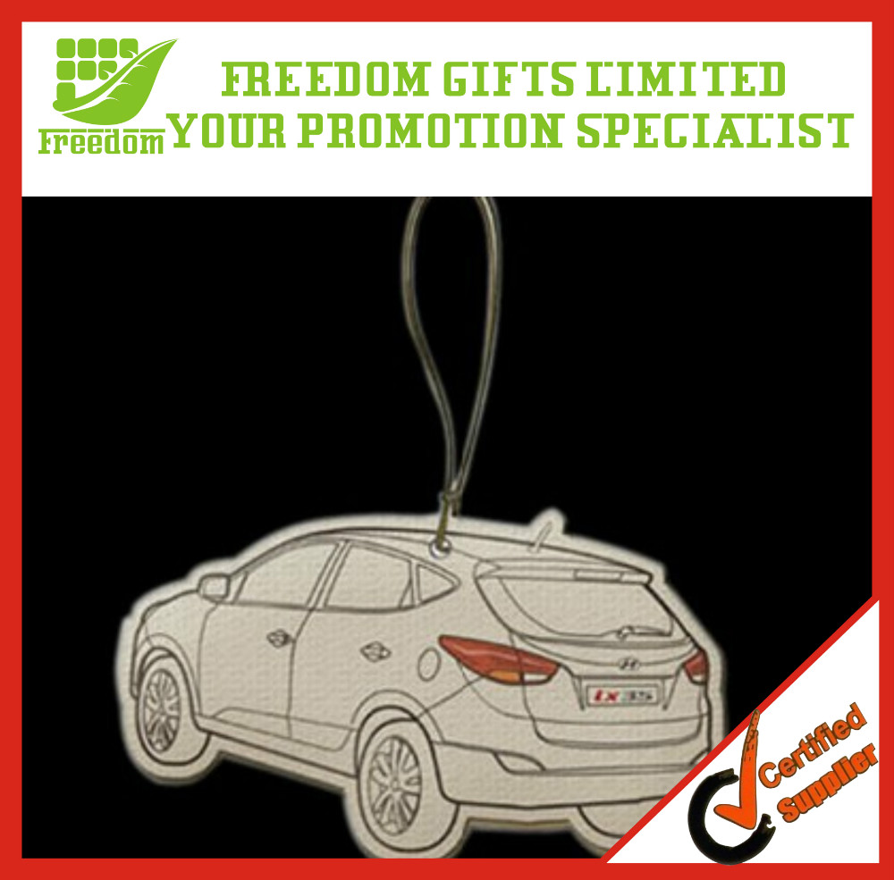 Promotion Customized Hanging Paper Car Air Freshener