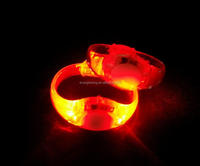 music running LED blink bracelet HOT sell 2018 for party/wedding/concerts