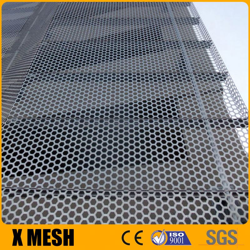 Electro Galvanized Steel Raised Expanded Metal for Roofs
