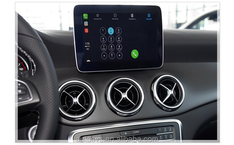 Apple ios interfaccia carplay NTG4.7 NTG5.0 NTG4.5 mercedes navigazione carplay recensione