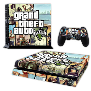 Direct factory price vinyl gaming sticker for ps 4 console