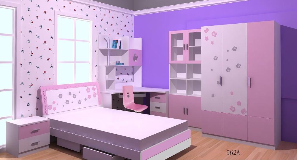 Purple Children Bedroom Furniture Product On