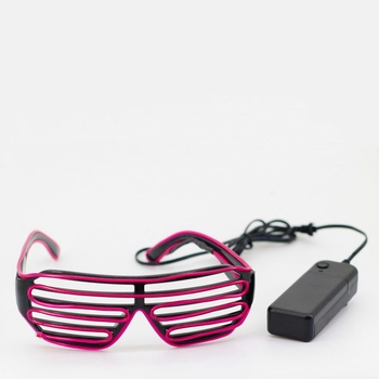06503ef14fd453 Shutter Shades Light Up Glowing In Dark Bril 2019 Nieuwe Jaar Bril ...