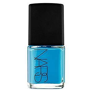 NARS Nail Polish, shade=Cyan Blue