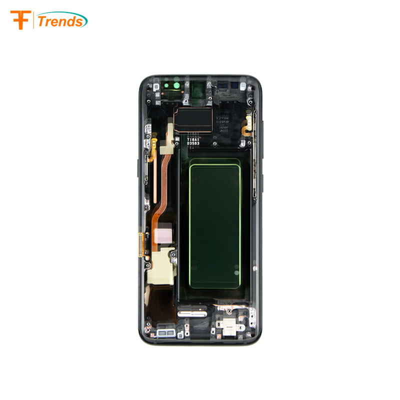 Original Mobile Parts G950 LCD Touch Screen Replacement for Samsung galaxy s8 G950 Screen with frame