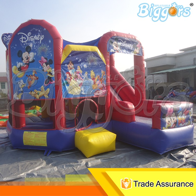 Giant Inflatable Bouncer Bouncy Castle Jumping Moonwalk with Slide for Kids