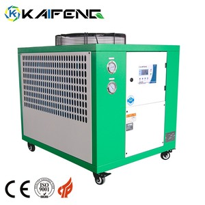 Industrial Air Condition System Mini Cooler Tank 7 Ton Water Chiller