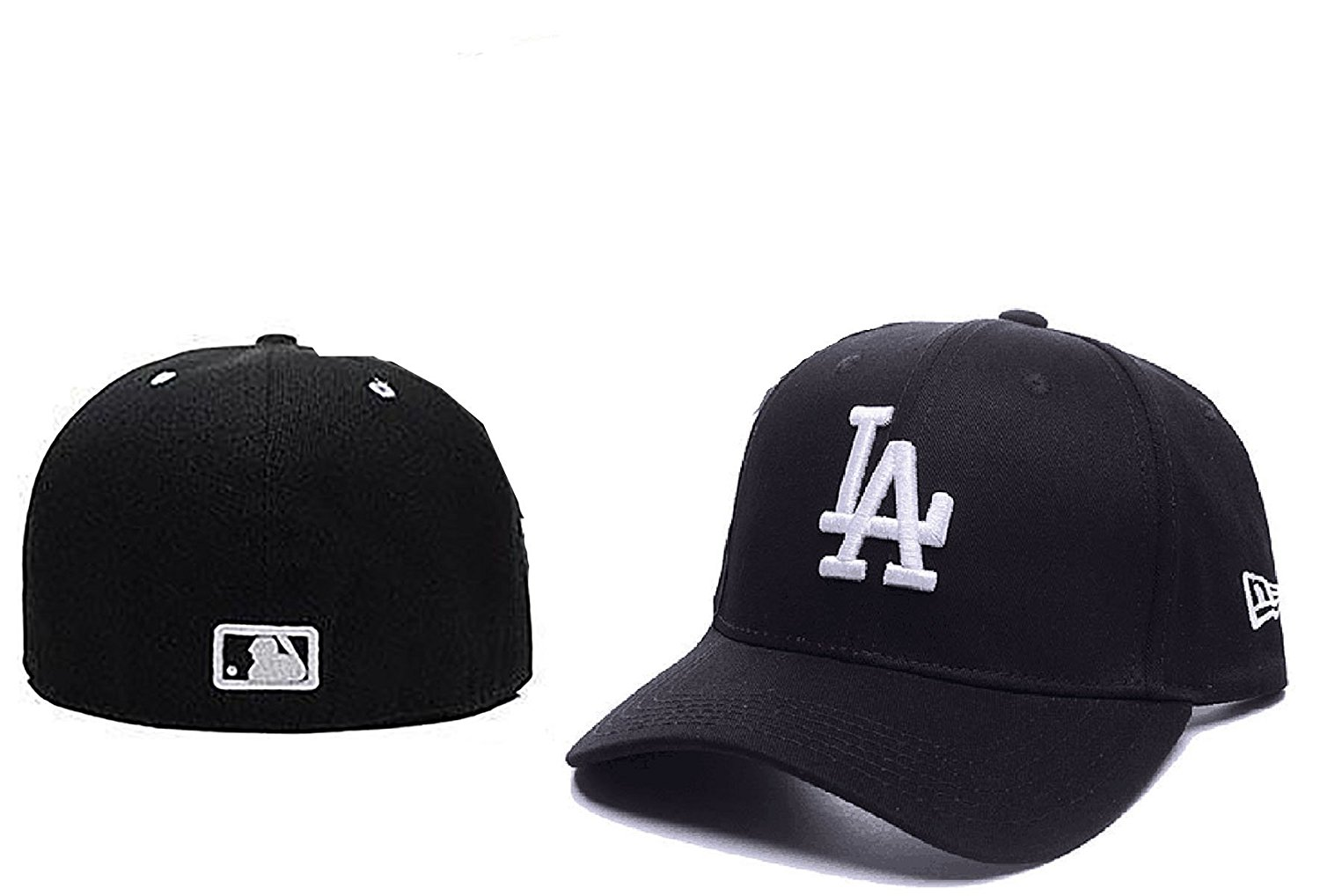 d878ff0326e Get Quotations · Los Angeles Dodgers Adjustable Cap Hat MLB Embroidered On  Field Game Home one size fit all