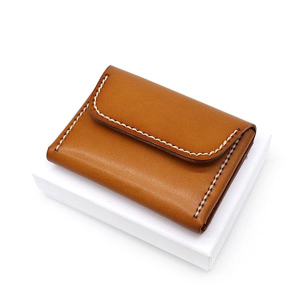 Men Zipper Wallet Genuine Leather Mini Coin Purse Credit//ID Card Key Holder