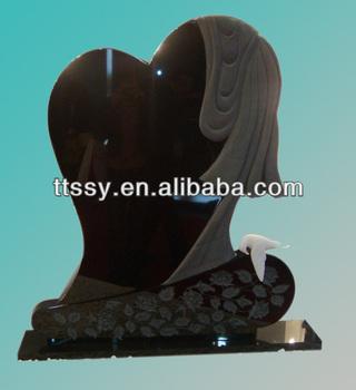 Jet Black Headstone Buy Black Granite Headstones Black