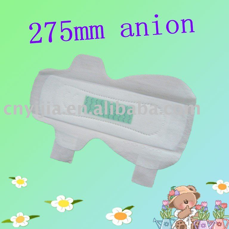 275mm Anion Pads- quality is similar with Love moon Anion Sanitary