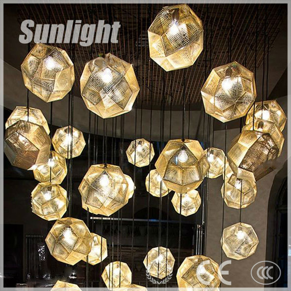 Rh Loft Lighting Metal Diamond-shaped Industrial Vintage Lighting ...