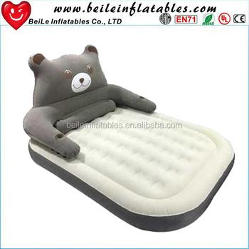 75ea7526e Popular personalizado inflável animal urso pardo grande cama de ar e colchão  inflável ...