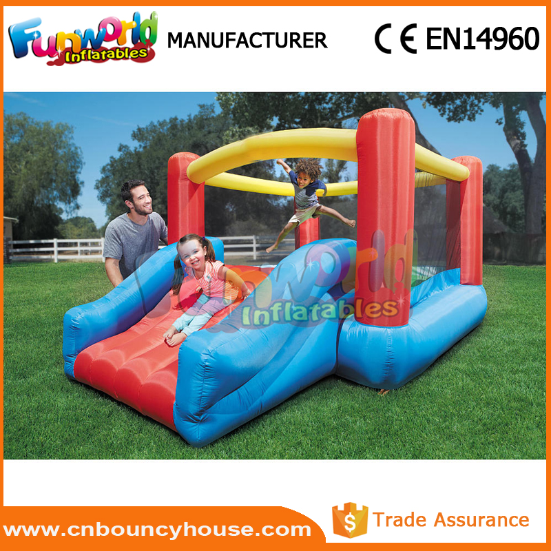 Inflatable small jump bouncer mini air house inflatable toys
