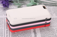 Portable External Battery Backup Charging case Pack power bank for iPhone