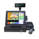 Restaurant all in one pos pc 15 inch Retail Touch Screen Pos Systems Cashier Register With POS Printer
