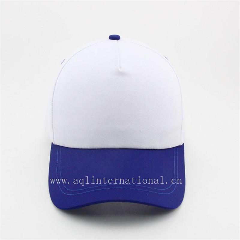 391beda9d0f91c Custom-made cotton blank 5 panel cap hats lightweight 2 tone baseball cap  cheap plain