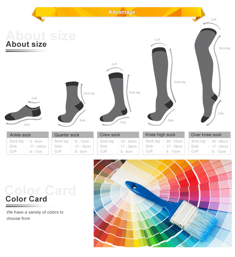 Wholesale custom design your own 100% organic fiber bamboo socks