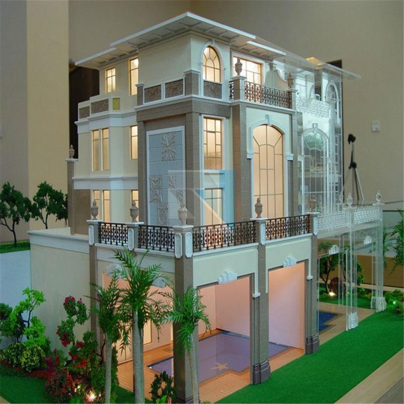 New Design 3d Maquette For Villa House Plan Architecture Acrylic ...