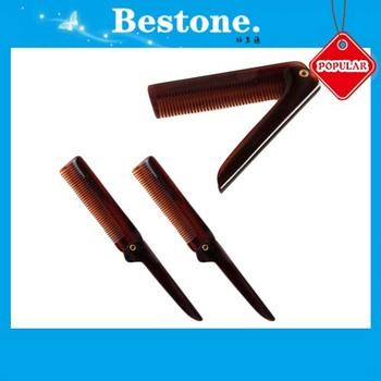 Uk Folding Plastic Beard Comb With Handle - Buy Folding Plastic Beard Comb  With Handle,China Plastic Combs,Folding Pocket Comb Product on Alibaba com