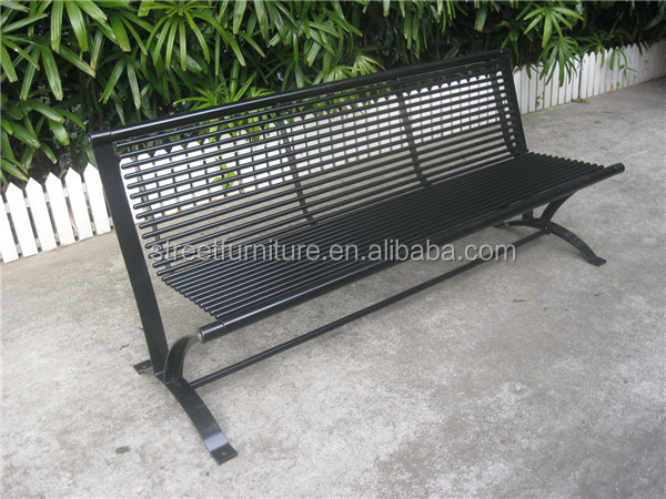 전자 코팅 야외 요소 파티오 가구 금속 야외 공원 벤치-금속 의자 ...