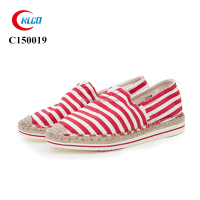 New design fashion plain white canvas shoes wholesale