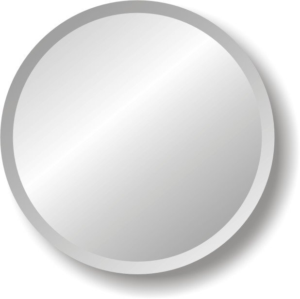 High Reflective Silver Mirror Made Small Round Mirrors Buy Small