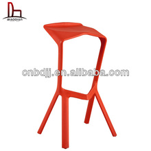 Elegant new style modern antique styled salon replica high heel shoe bar stool club plastic colored bar chair