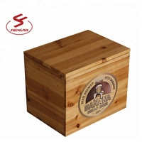 20L Retro wood ice bucket for cold beer