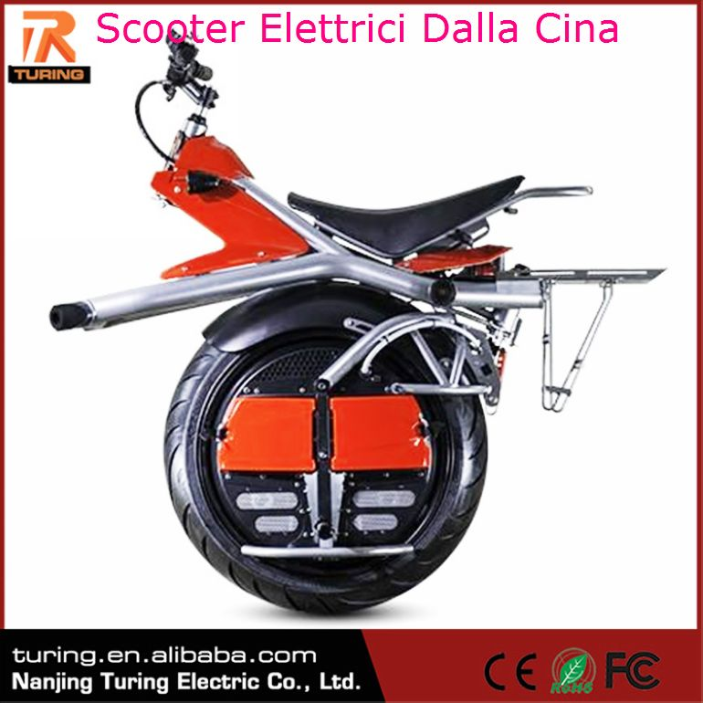 New Products On Market One Wheel Motorcycle Electric Wuxi Scooter Elettrici Dalla Cina