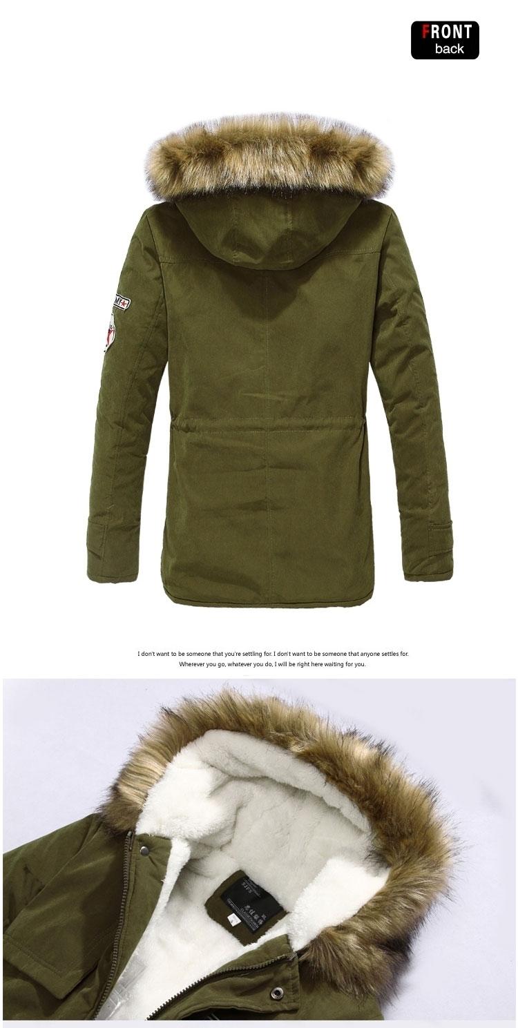36c2d7a2dd3 2019 Wholesale Faux Fur Hooded Jacket Brand Men Clothes Zipper ...