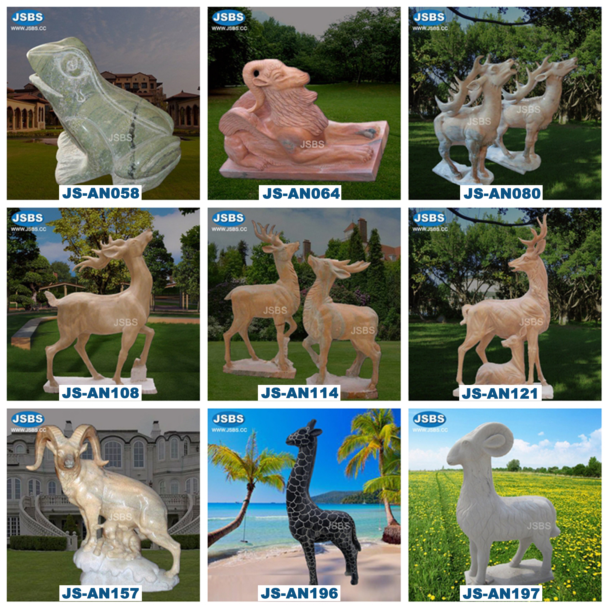 Garden Outdoor Stone Hyena Sculpture For Sale