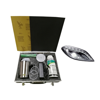 Professional Permanent Head Lamp Restoration Renew Kit/Headlight Restoration Kit