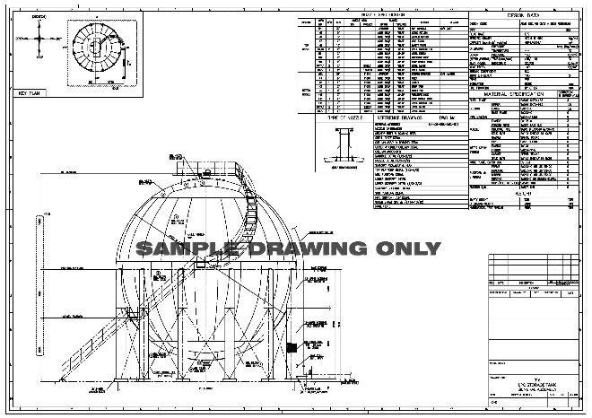 Dise 241 O Del Tanque Tanque De Almacenamiento Y El Esf 233 Rico