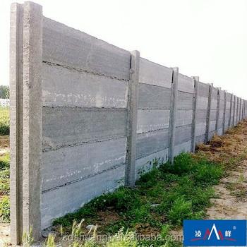 Fence Concrete Column Machine Decorative Concrete Wall