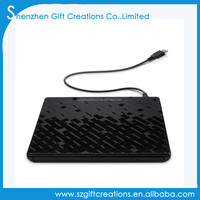 Touch Control USB 3.0 Ultra Slim Portable CD-ROM Optical Drive External DVD+/-RW Burner Writer Player for Computer
