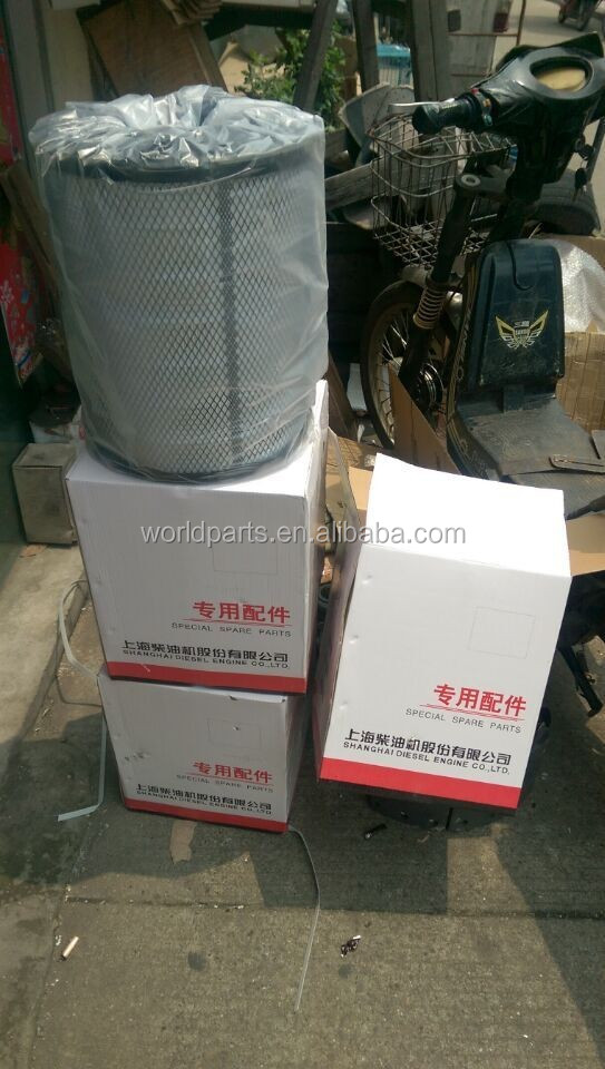 Changlin Wheel Loader Shangchai C6121 Engine Spare Parts A5549 Air Filter