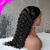 Wholesale high quality 10-30inch Natural black 100 human hair full lace wig brazilian virgin