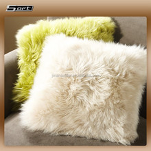 Home Decoration Fashionable Luxury Fur Body Pillow