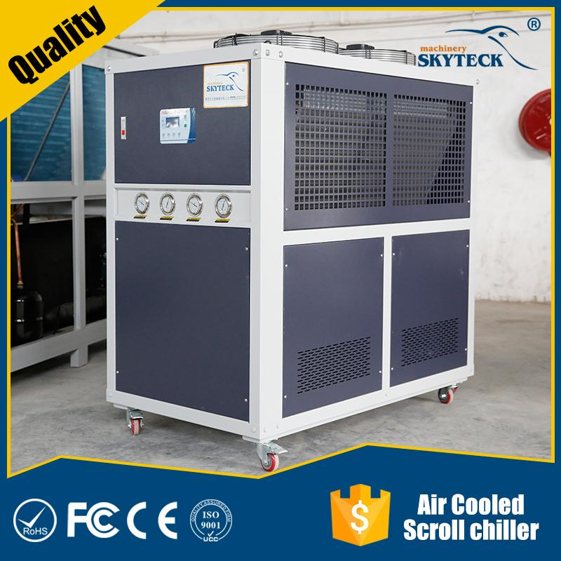 Copeland -10degree R404a Refrigerant Low Temperature Propylene Glycol Water Chiller Air Cooled Type