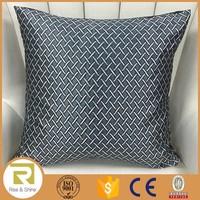 Wholesale 100% Polyester yarn dyed jacquard cushion