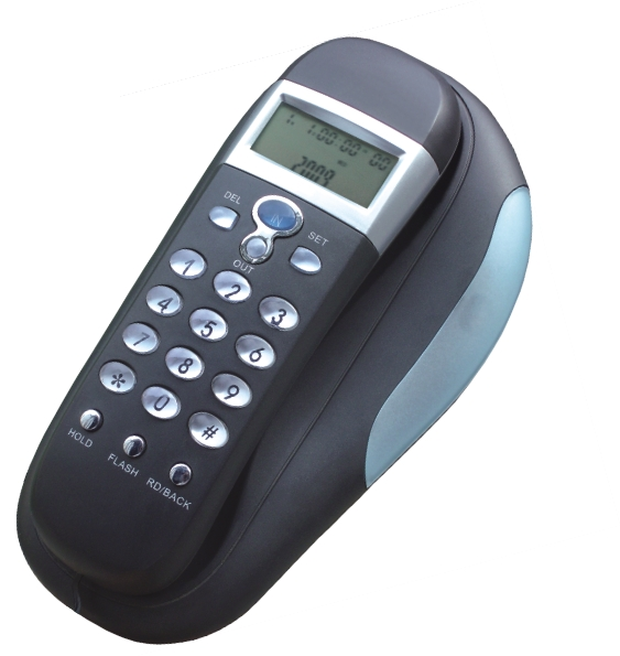 telephone number identification slim telephone wall mounted phone hotel room telephone